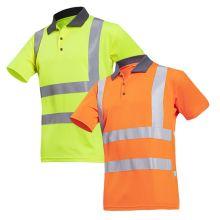 Sioen Popola Hi-Vis Polo Shirts