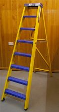 Bratts Ladders Swingback Ladders with Aluminium Treads
