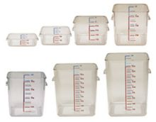 Rubbermaid Square Containers