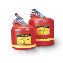 Justrite Polyethylene Laboratory Safety Cans