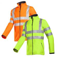 Sioen Genova Hi-Vis Softshell Jacket