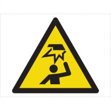 Dependable Warning! Overhead Obstacles Symbol Signs