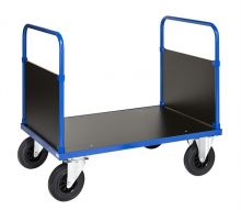 Kongamek Powder Coated Platform Trolley with 2 End Panels