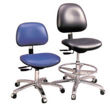 Gibo Kodama Cleanroom ESD Chair Class 100 with Castors and Footrings