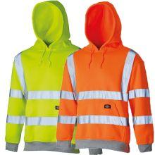Dickies Hi Vis Hooded Sweatshirts