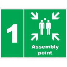Dependable Assembly Point 1 Signs