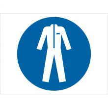 Dependable Wear Protective Clothing Symbol Signs