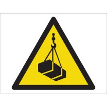 Dependable Warning! Overhead Loads Symbol Signs