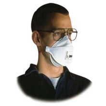 3M P2 Foldable Respirators 9322 - Box 10