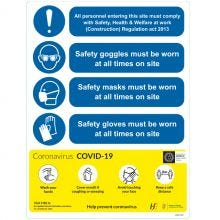 COVID-19 Health and Safety Guideline Sign