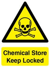 Dependable Chemical Store Sign