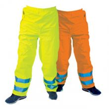 Dependable Hi-Vis Rain Trousers