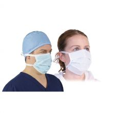 Superior Surgical 3-Ply Tie-On Face Masks