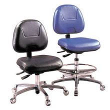 Gibo Kodama Cleanroom ESD Chair Class 10 with Glides and Footring