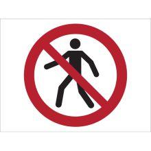 Dependable No Trespassing Symbol Signs