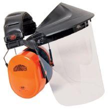 JSP Bushmaster Ear Defender & Polycarbonate Visor