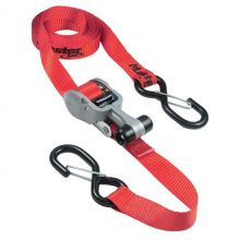 Master Lock Ratchet Tie Down with S Hooks