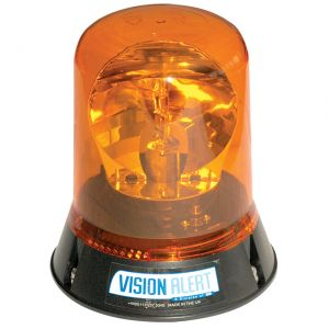 VisionAlert Rotating Beacon 1 Bolt 12/24V