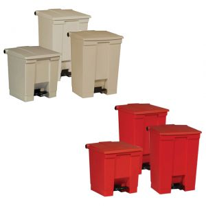 Rubbermaid Step-On Bins