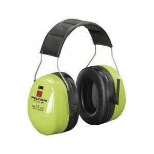 3M Optime III Hi-Vis Headband Ear Muffs
