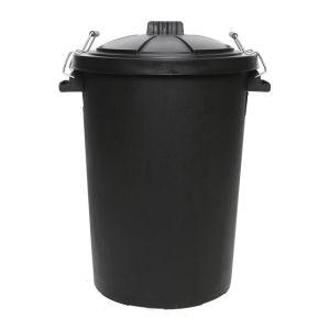 Dosco Black Bin 85L
