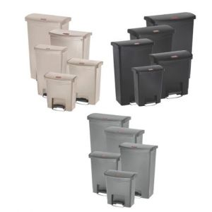 Rubbermaid Slim Jim® Step-On Waste Bins