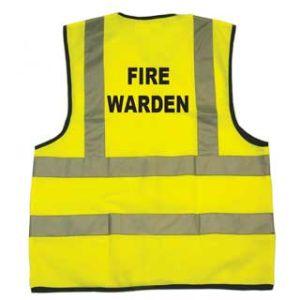 Dependable Fire Warden Vest