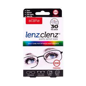 Acana Lenz Clenz Anti-Fog Optical Wipes