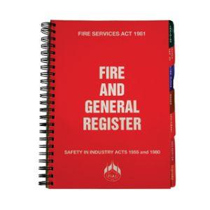 Dependable Fire Register Book