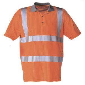 Dependable Hi-Vis Polo Shirts