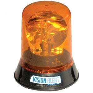 VisionAlert Rotating Beacon 3 Bolt 12/24V