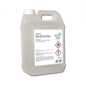 Hand Sanitising Alcohol Gel - 5L