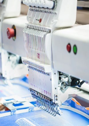 Embroidery and Print