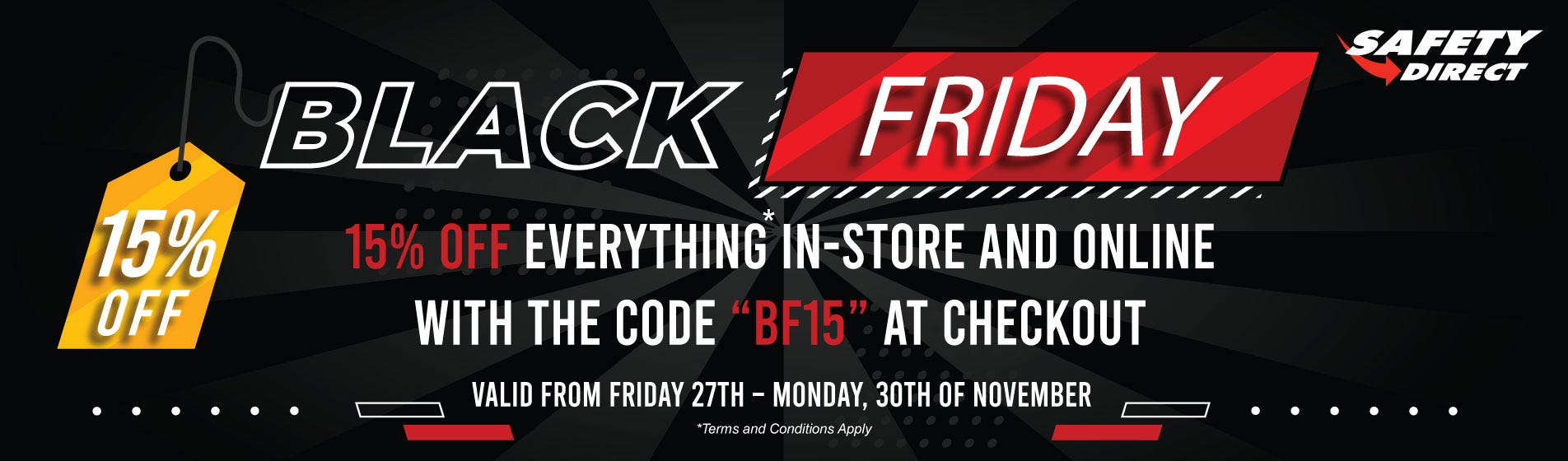 Black Friday at Safety Direct