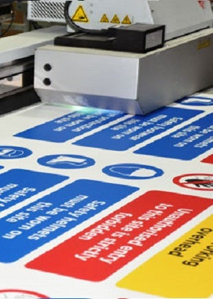 Signs and Labels Printing